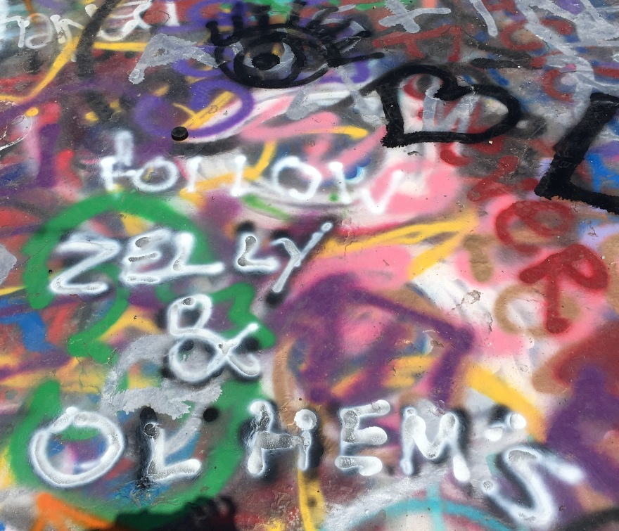 Zelly & Ol' Hem's Graffiti