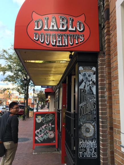 Diablo Doughnuts Entrance