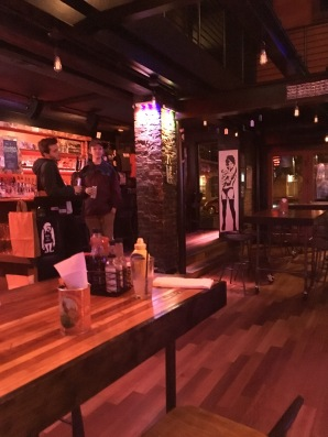 Sir Duke's bar area