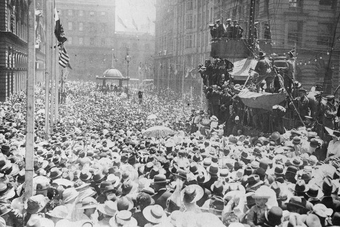 Armistice Day Australia 1918
