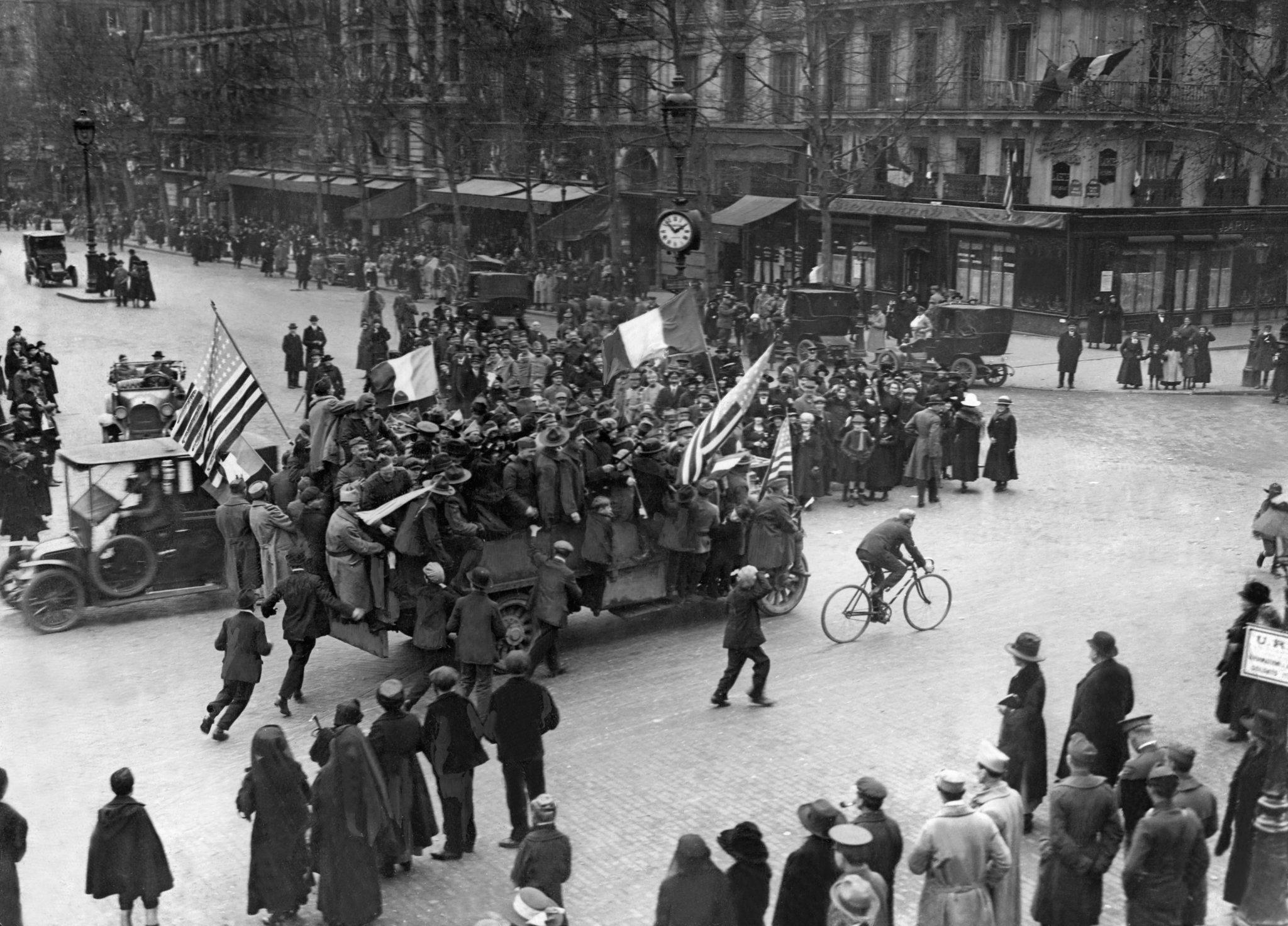 Armistice Day France 1918